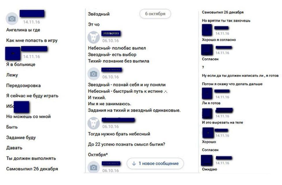 """Скриншот предоставлен """"Центром спасения детей от киберпреступлений"""""""